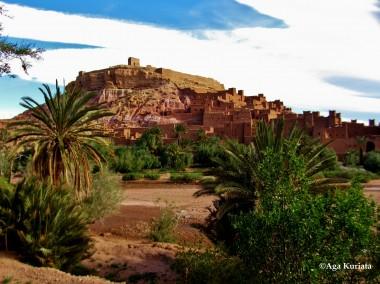Ksar w Maroko. Fot. Agnieszka Kuriata