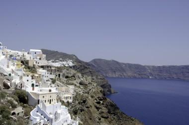 Fot. Widok na Santorini (flickr.com, BruceHH).